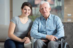 Caretaker And ElderlyMan