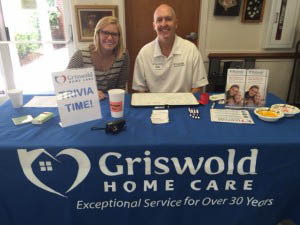 Griswold Home Care Booth