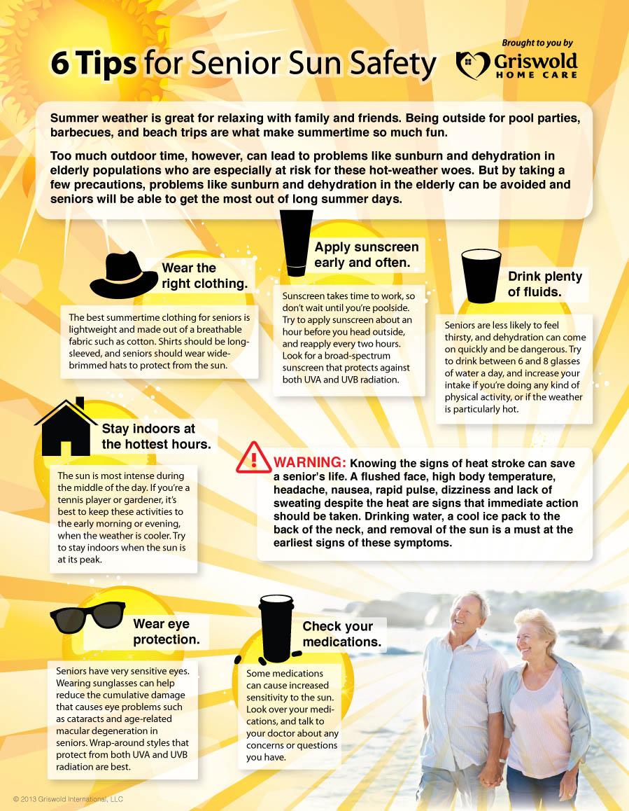 sun tips infographic