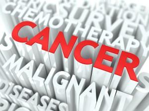 Cancer word cloud