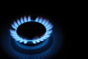 Gas range fire