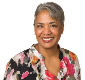 Female African American caregiver