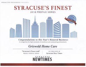 Syracuse Finest 2018