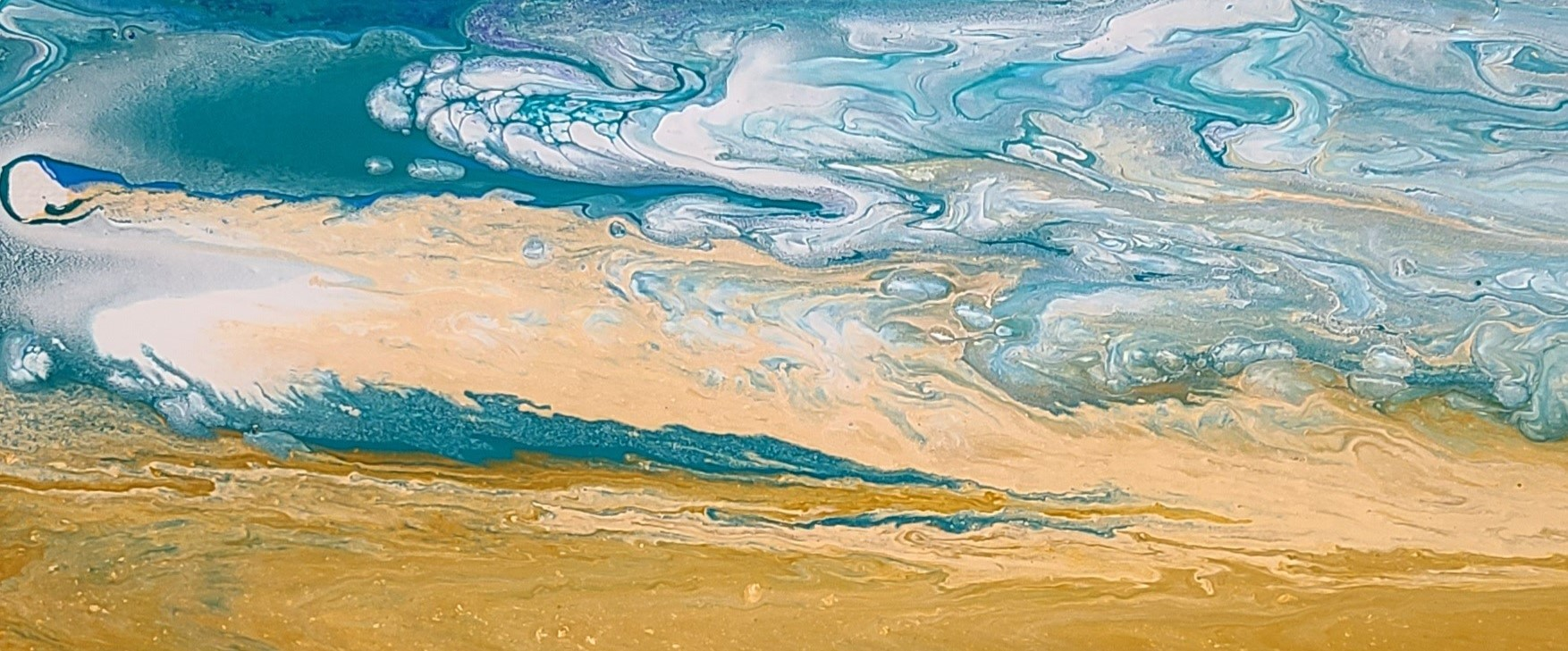 Abstract Paint Pouring